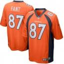 Noah Fant Denver Broncos Nike Jeu Joueur Maillot - Orange