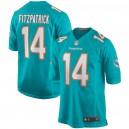 Ryan Fitzpatrick Miami Dolphins Nike Maillot de jeu - Aqua