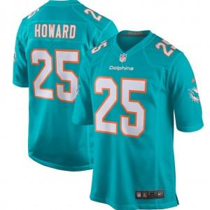 Xavien Howard Miami Dolphins Nike Joueur Jeu Maillot - Aqua