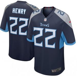Derrick Henry Tennessee Titans Nike Joueur Jeu Maillot - Marine