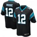 DJ Moore Carolina Panthers Nike Jeu Joueur Maillot - Noir