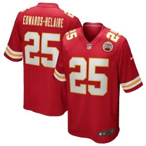 Clyde Edwards-Helaire Kansas City Chiefs Nike 2020 NFL Draft Première Rond Choisir Jeu Maillot - Rouge