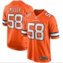 Von Miller Denver Broncos Nike Alternate Juego Maillot - Naranja