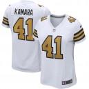 Alvin Kamara New Orleans Saints Nike Maillot de joueur suppléant féminin - Blanc