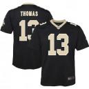 Michael Thomas New Orleans Saints Nike Maillot de jeu pour la jeunesse - Noir