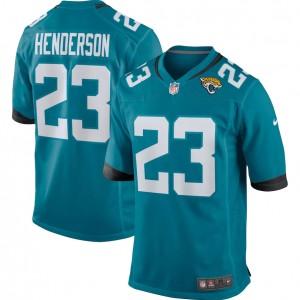 CJ Henderson Jacksonville Jaguars Nike Jeu Maillot - Sarcelle