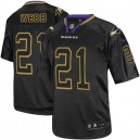 Men Nike Baltimore Ravens &21 Lardarius Webb Elite Lights Out Black NFL Jersey