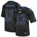 Men Nike Tennessee Titans &13 Kendall Wright Elite Lights Out Black NFL Jersey