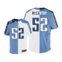Men Nike Tennessee Titans &52 Colin McCarthy Elite Team/Road Two Tone NFL Jersey